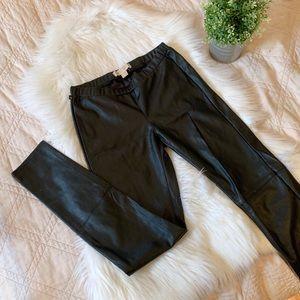Michael Kors Faux Leather Leggings | NWOT | 2